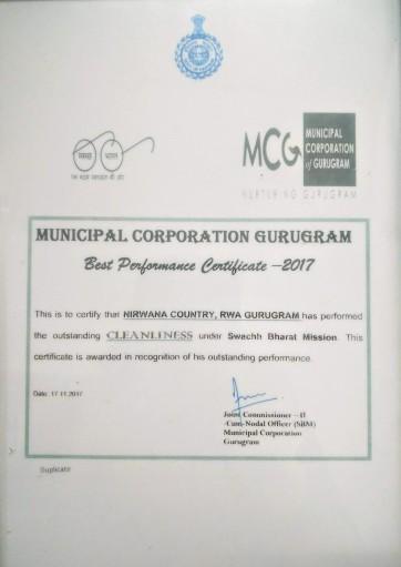 MCG award